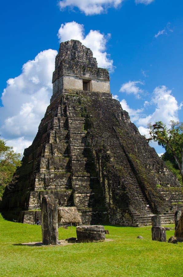 Tikal Guatemala imagens de stock royalty free