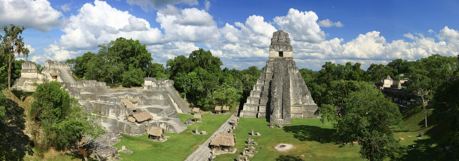 Download Tikal Temples stock image. Image of green, guatemala - 13562817
