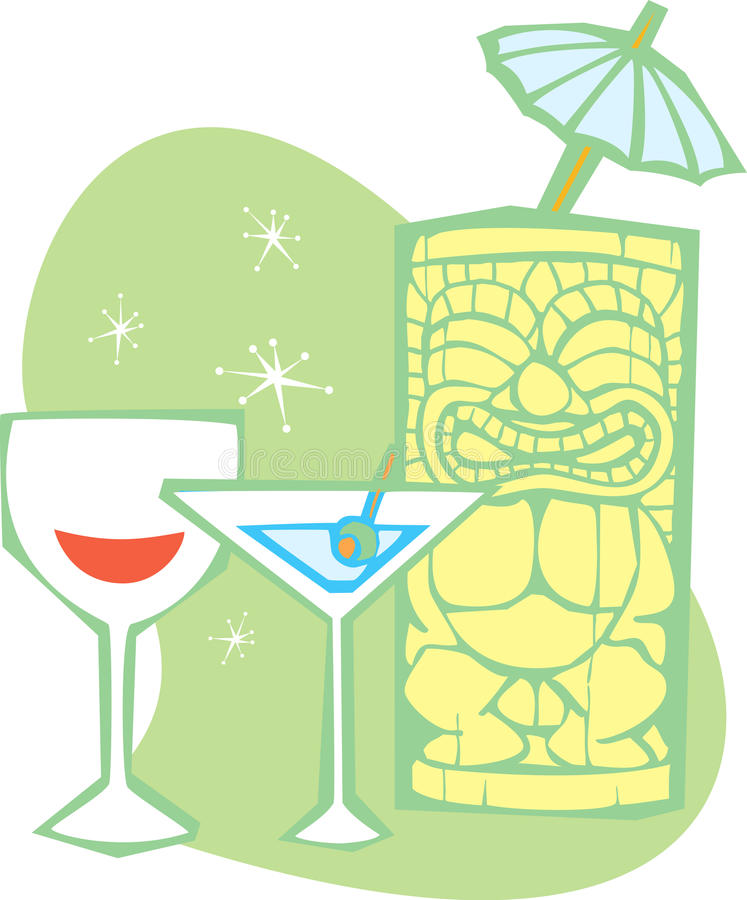 Tiki #3 libre illustration