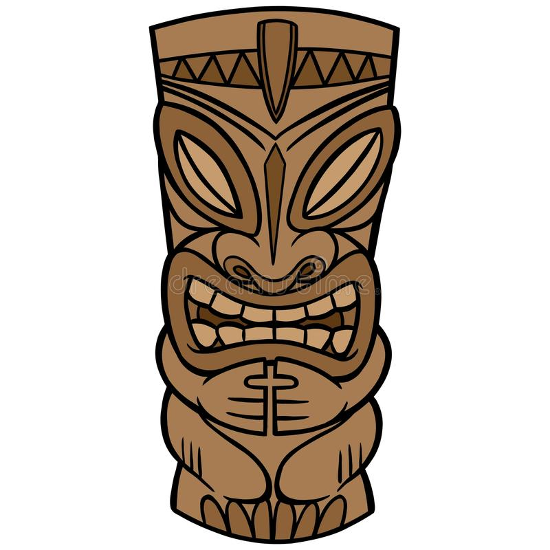 Tiki vector illustratie