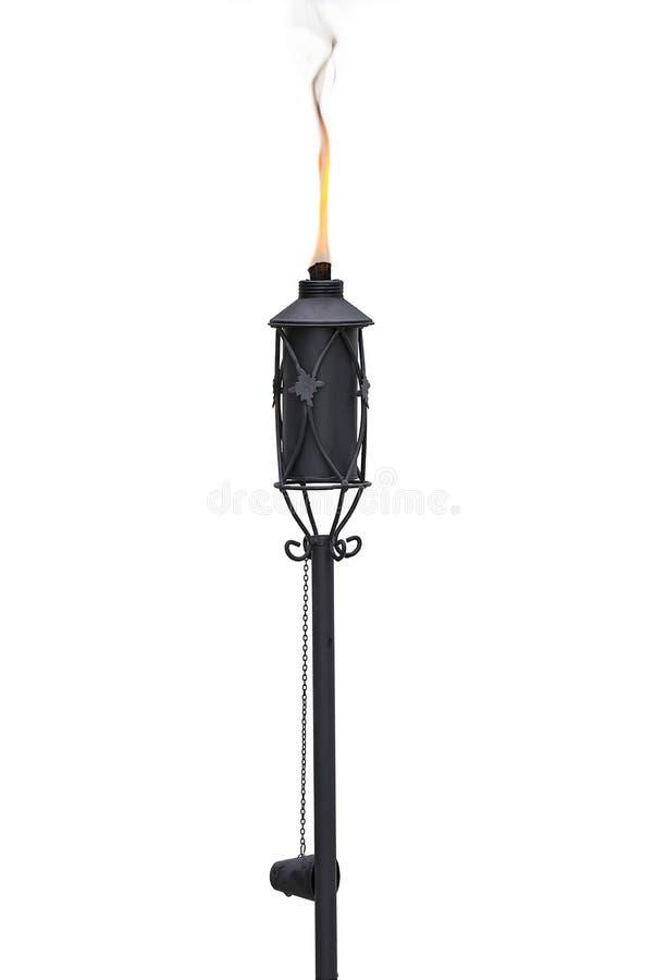 Tiki Torch stock afbeelding
