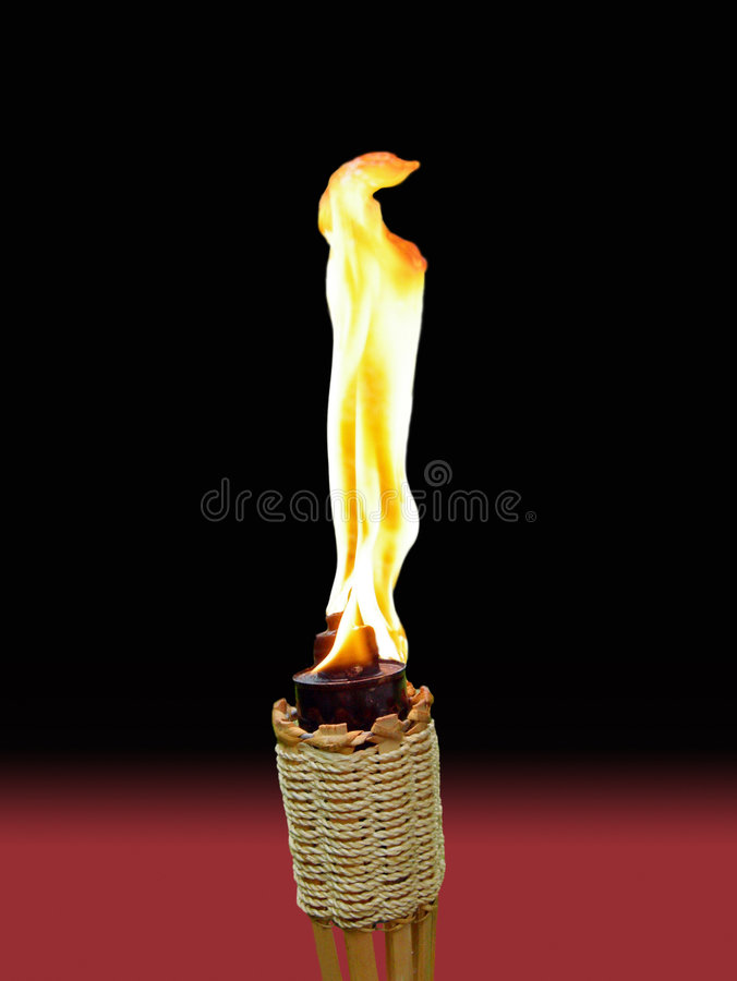 Free Tiki Torch On Background Royalty Free Stock Images - 2674169