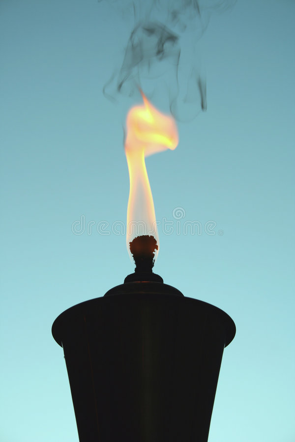 Tiki Torch silhouette