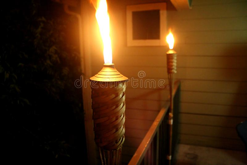 Tiki Torches Revisited Free Public Domain Cc0 Image