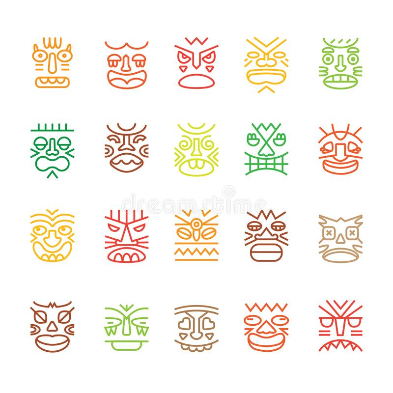 Hawaii vector collection stock vector  Illustration of fruit