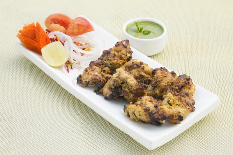 Tikka de poulet de Hyderabad Nawabi photos libres de droits