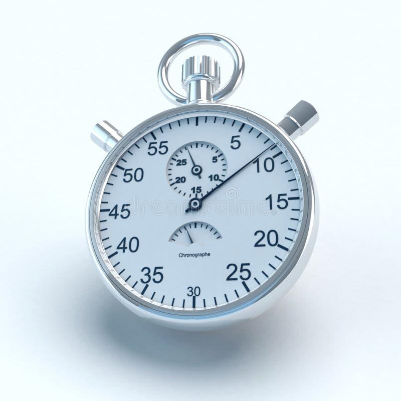 Tikkende chronometer stock foto
