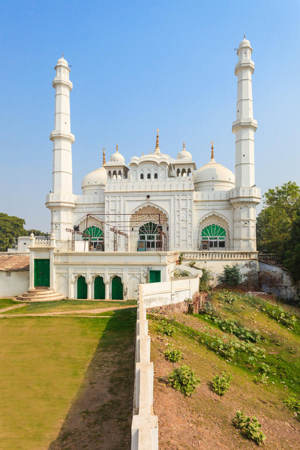 Tila Wali Masjid. Is a mosque located near the Bara Imambara in the Lucknow city of India royalty free stock photo