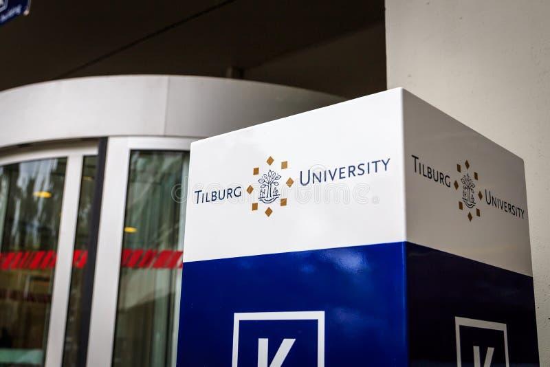 Tilburg University royalty free stock photos