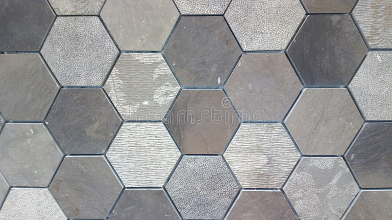 Tile Background. Vintage cement mosaic floor tile pattern for background royalty free stock photo