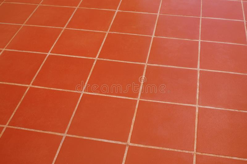 Tile brick brown floor texture for background. Tile brick brown floor texture abstract for background, for design royalty free stock photo