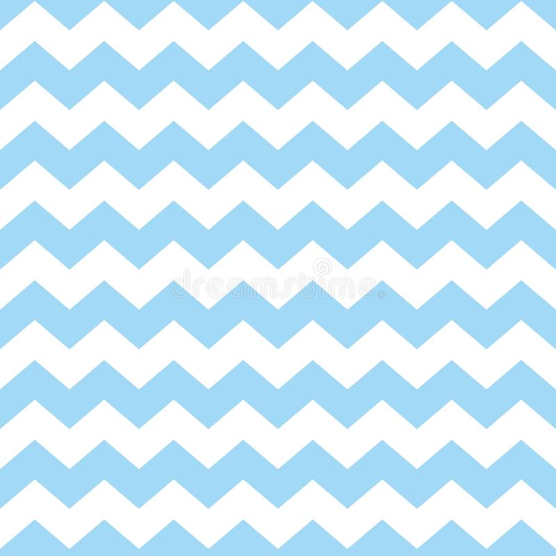 Download Tile Chevron Vector Pattern With Pastel Blue And White Zig Zag Background Stock