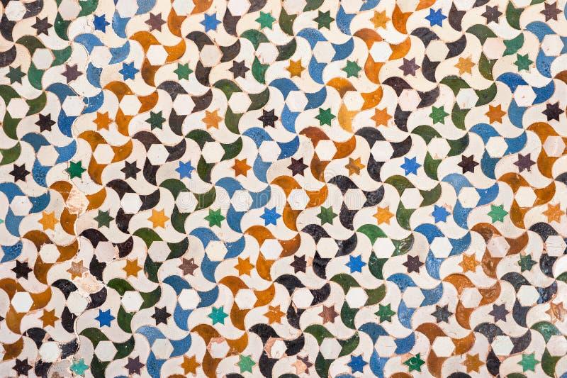 Download Tile Decoration, Alhambra Palace, Spain Stock Photo - Image: 25263996