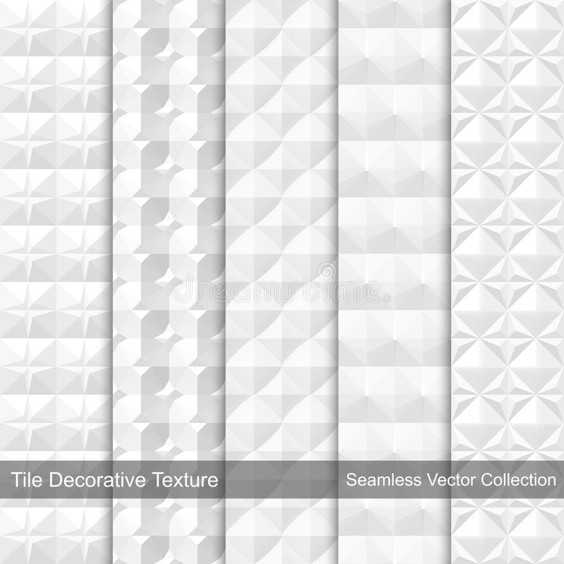 Free Tile Decorative Texture. Seamless Vector Patterns. Stock Image - 62314871