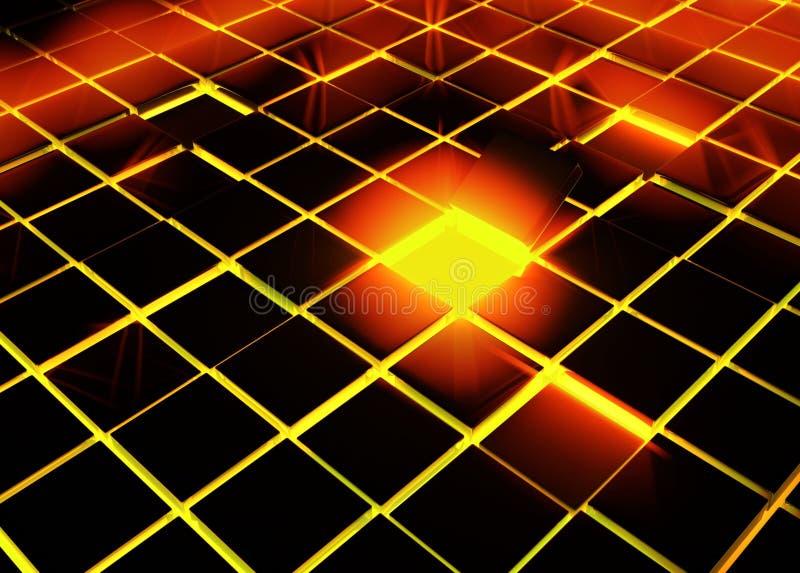Download Tile Gap stock illustration. Image of illuminate, heat - 6011058