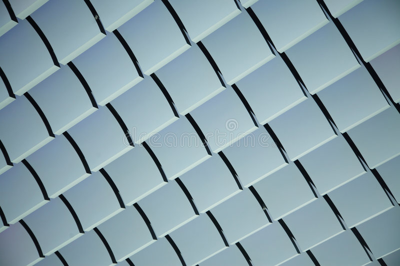 Tile pattern. On the ceiling royalty free stock photo