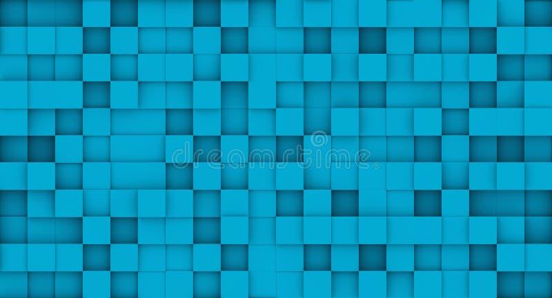 Tile pattern, 3d rendering background.  vector illustration
