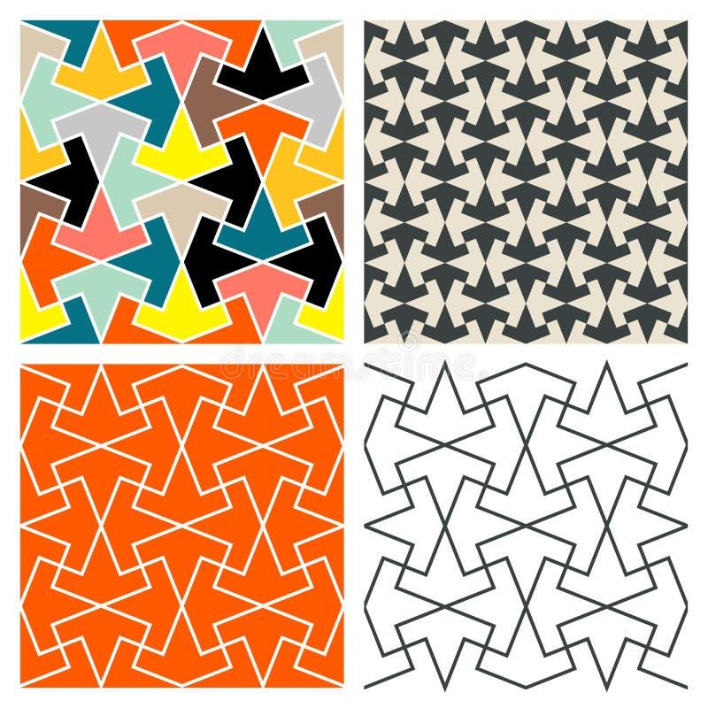 Tile Patterns vector illustration