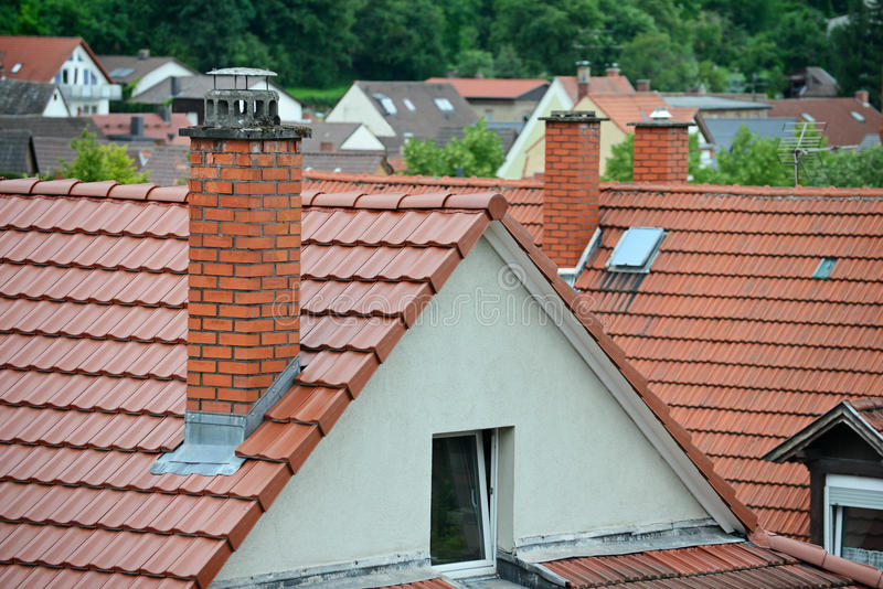 Download Tile roof stock photo. Image of city, rooftop, color - 27238864