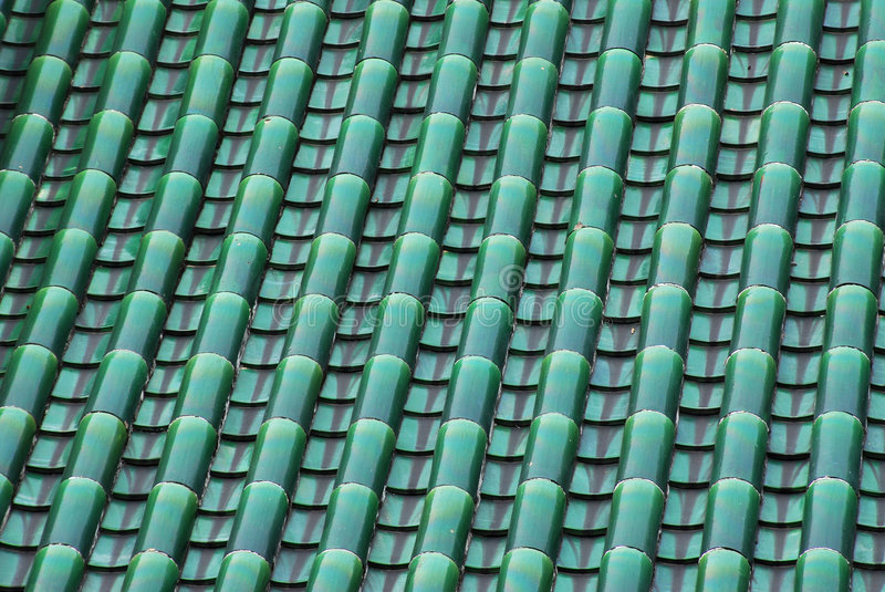 Tile and roof structure stock photography
