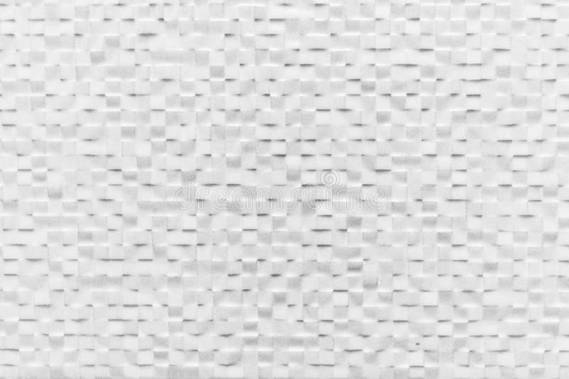 Tile wall background shining in white color. Elegant pattern stock image