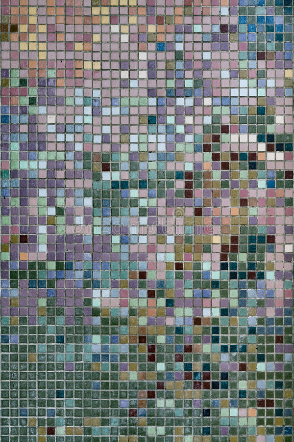 Tile Wall Mosaic royalty free stock photos