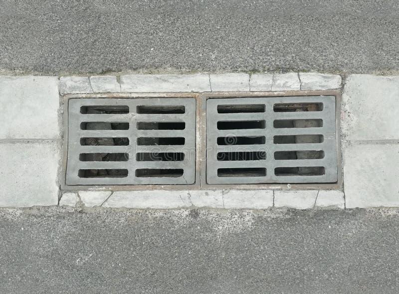 Tileable manhole rynnowa pokrywa zdjęcia royalty free