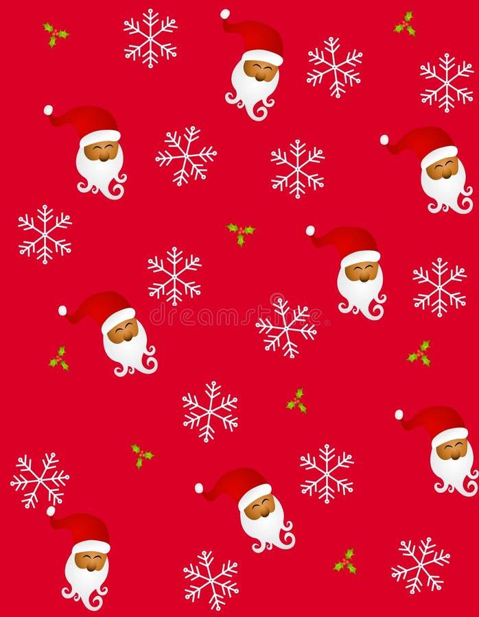 Tileable Papai Noel 2 ilustração do vetor