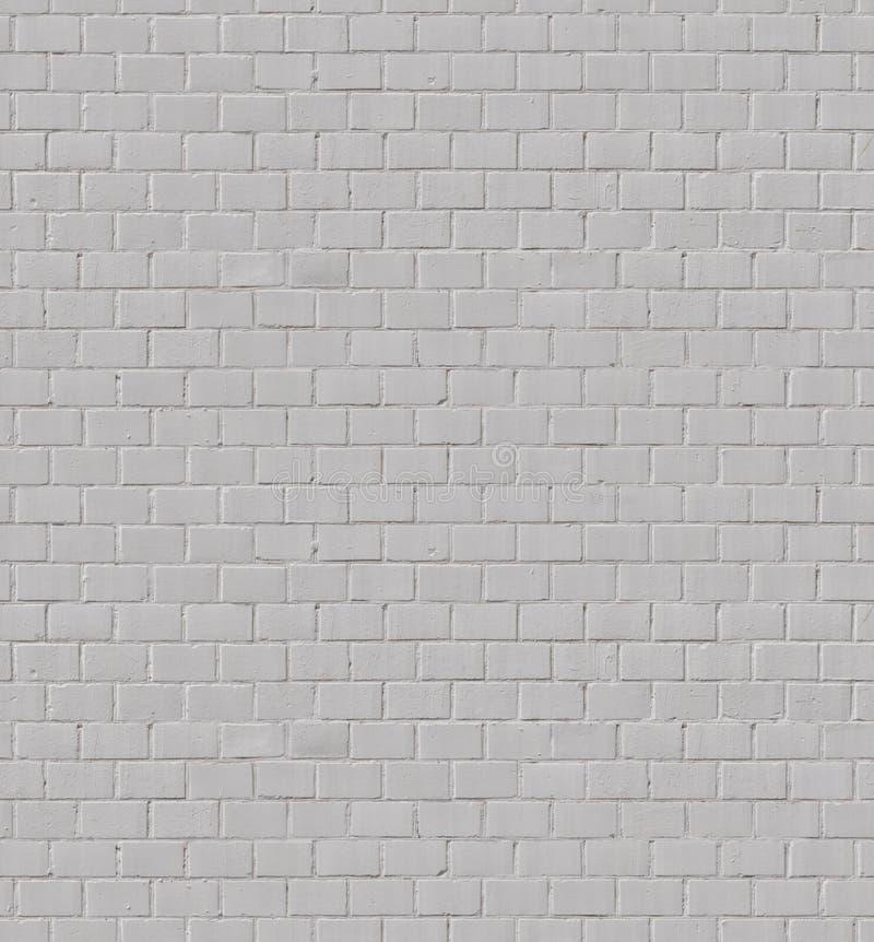 Tileable-Weißbacksteinmauer stockbilder