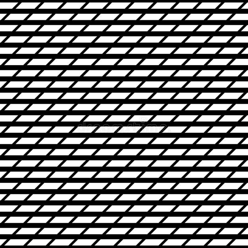 Tileablenet/reeks van het netwerk de geometrische patroon Herhaalbare monoch stock illustratie