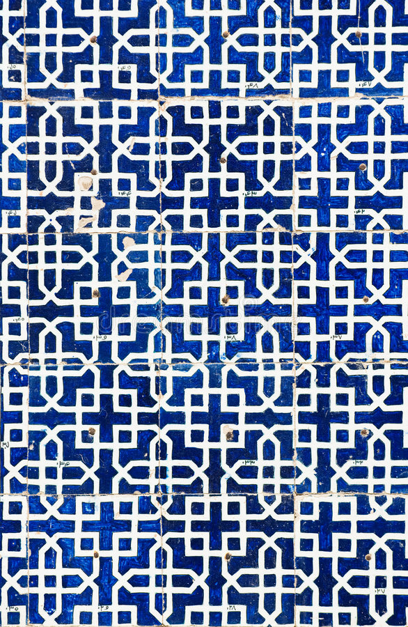 Tiled background. Oriental ornaments from Uzbekistan stock images