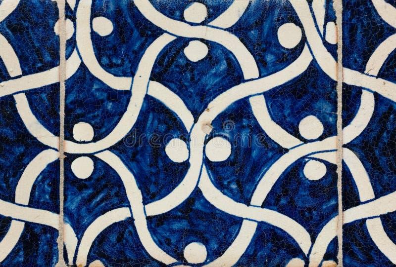 Tiled background. Oriental ornaments from Uzbekistan stock photo