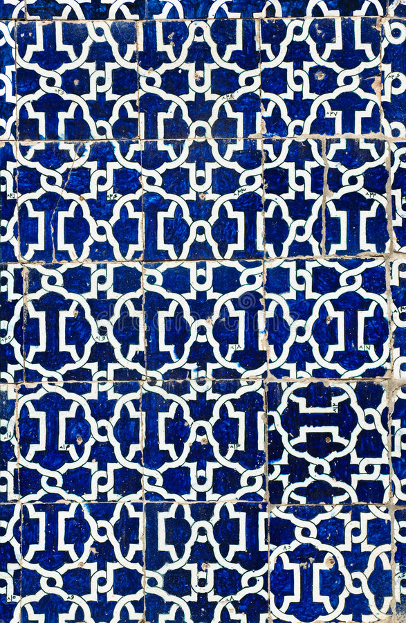 Tiled background. Oriental ornaments from Uzbekistan royalty free stock images