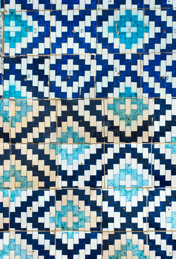Tiled background. With oriental ornaments royalty free stock images