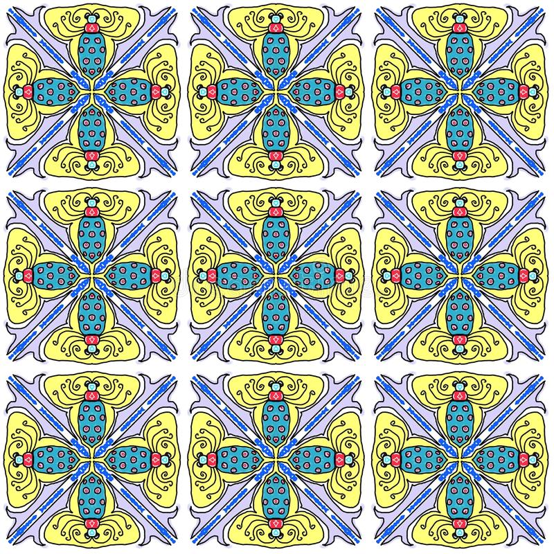 Download Tiled bugs stock illustration. Image of insect, tile - 30818482