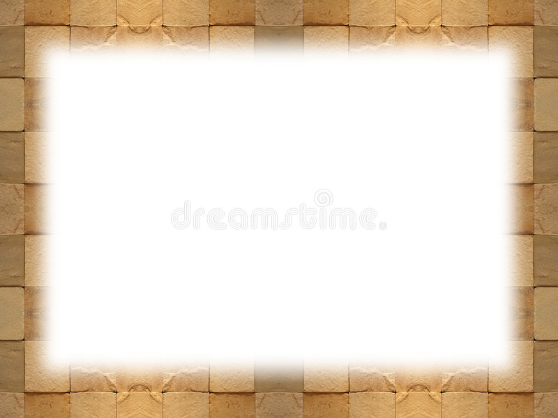 Download Tiled frame stock photo. Image of rough, pattern, beige - 3509844
