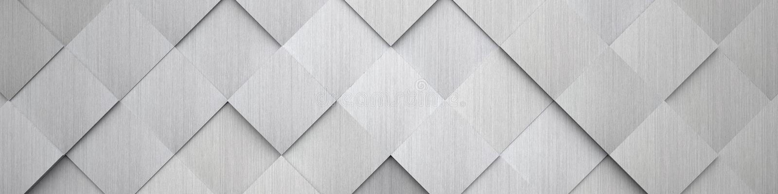 Tiled Metal Texture (Website Head). A high detail tiled metal texture (can be used as a website head stock illustration