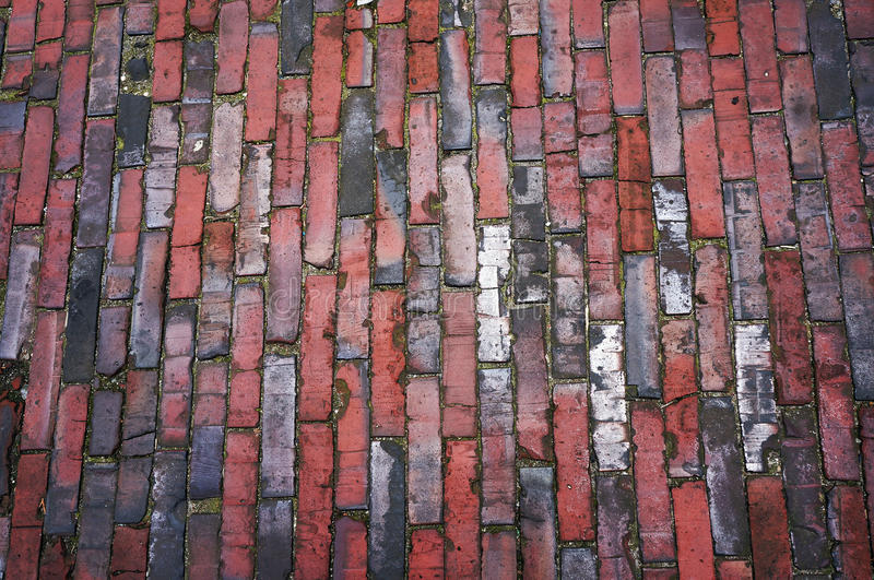 Tiled pavement texture. Abstract background stock images
