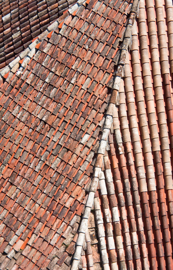Download Tiled roof stock image. Image of city, view, urban, house - 14406623