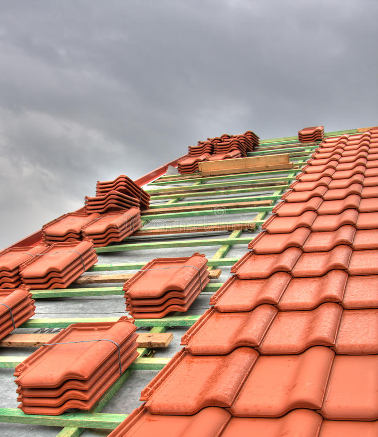 Free Tiled Roof Royalty Free Stock Photography - 16389397