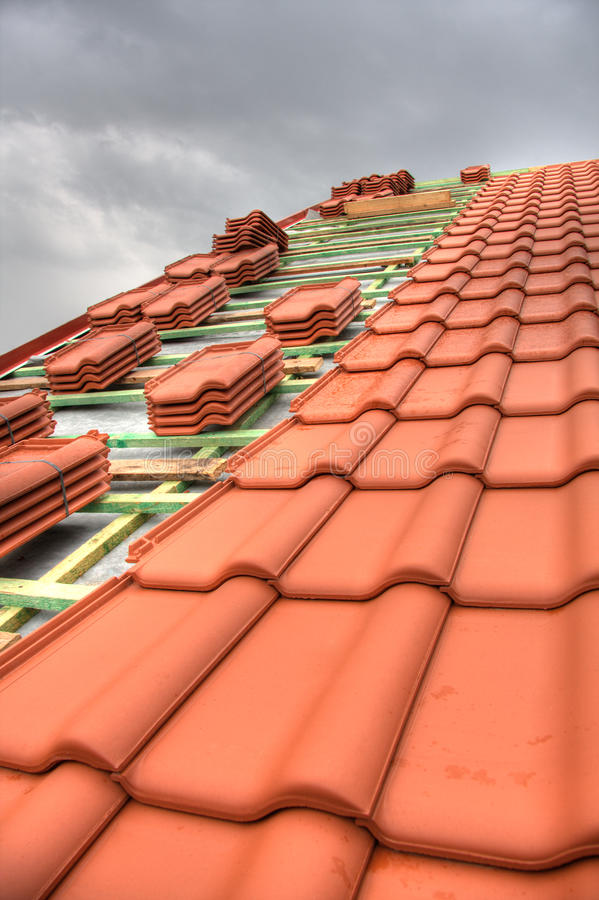 Free Tiled Roof Stock Photos - 16389413