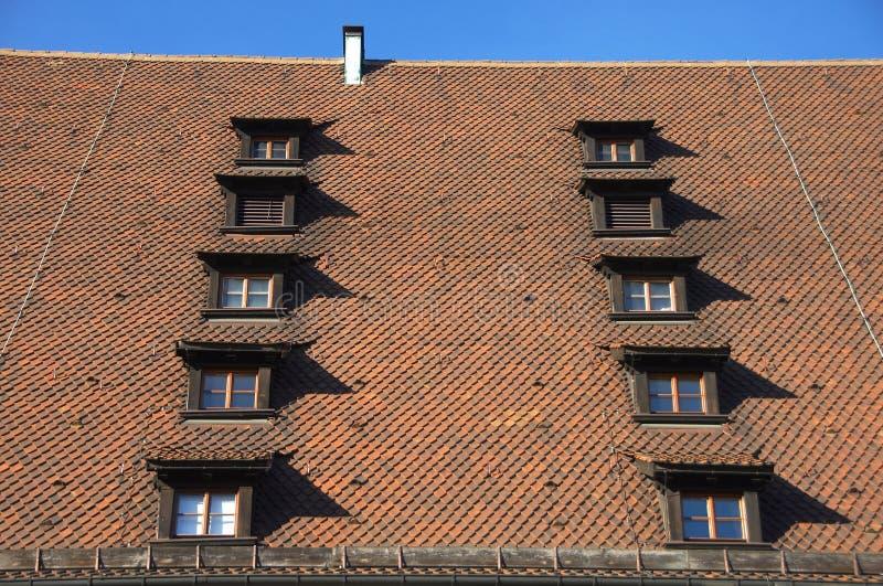 Download Tiled Rroof stock image. Image of chimney, gutter, home - 4322265