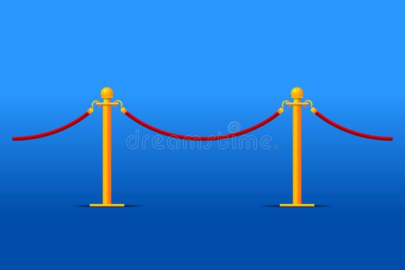 Tiled stand barriers. Tiled stand barriers vector illustration vector illustration