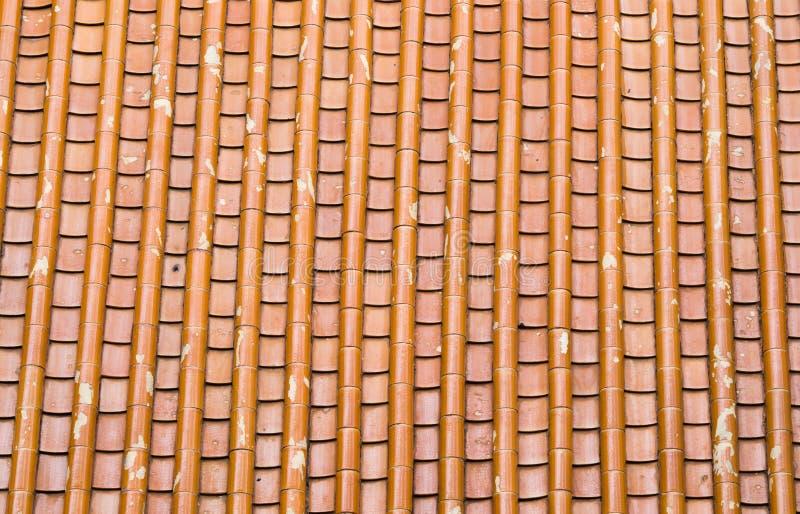 Tiled taklägger arkivbild