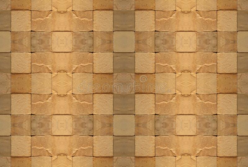 Download Tiled wall 2 stock photo. Image of blocks, bricks, beige - 3509690