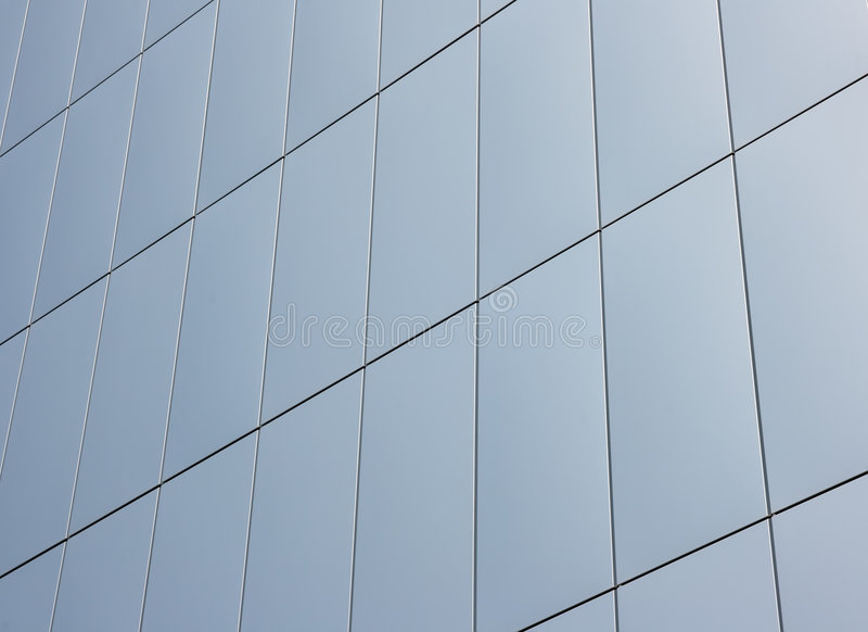 Download Tiled wall stock image. Image of modern, exterior, shiny - 2303941