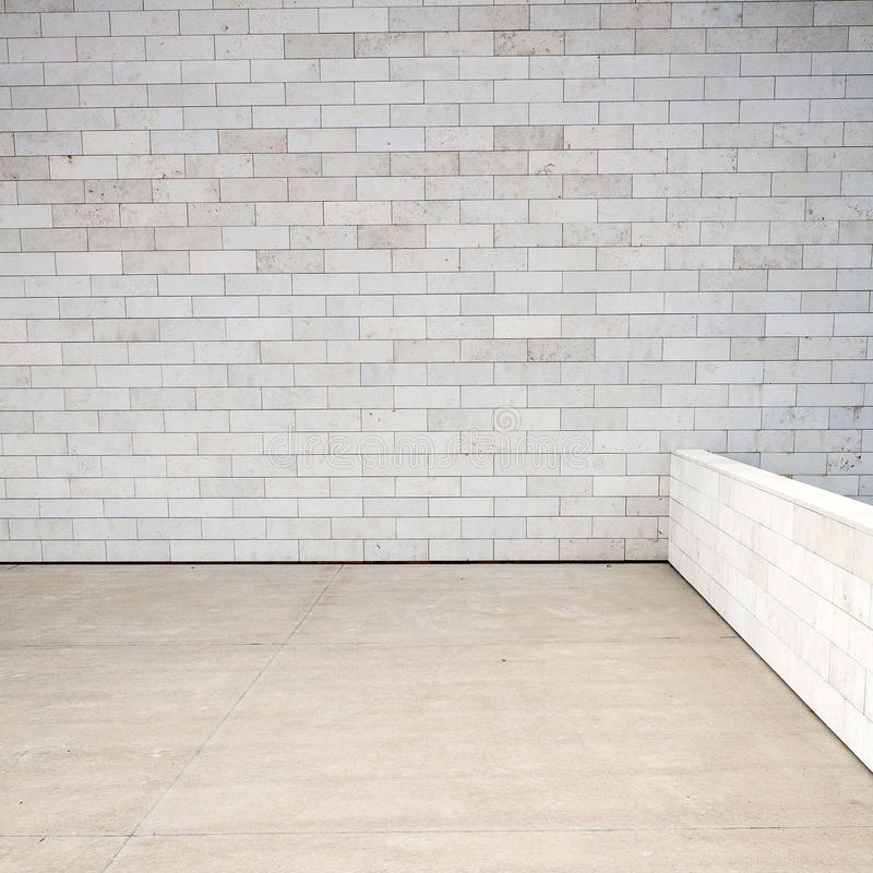 Download Tiled wall stock photo. Image of block, horizontal, architectural - 26061240