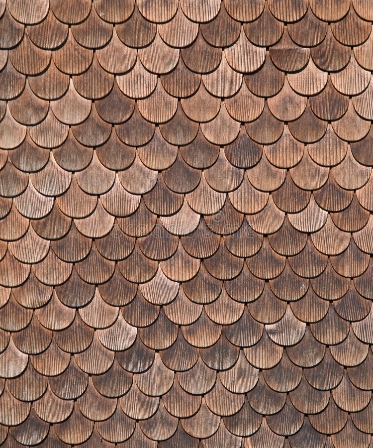 Tiled wooden structure stock photography
