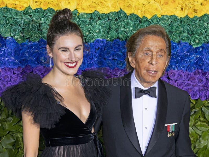 Tiler Peck & Valentino Garavani em Tony Awards 2019 fotografia de stock