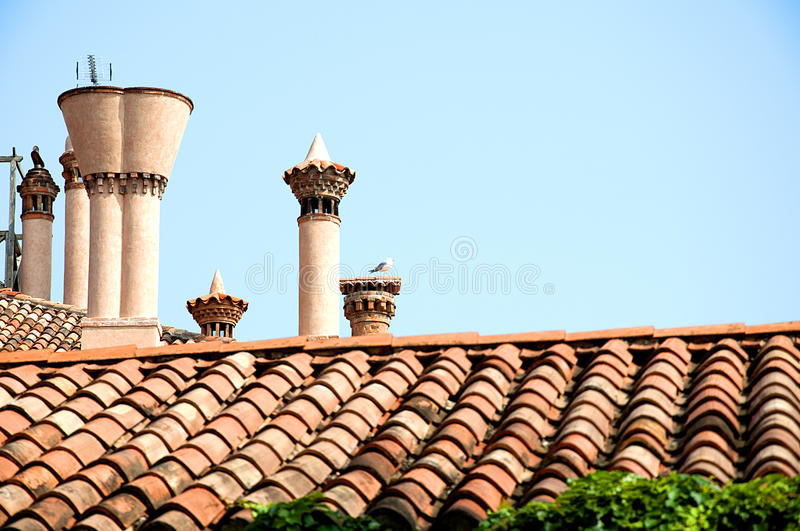 Download Tiles stock photo. Image of italy, chimney, exhaust, unusual - 27187176
